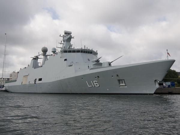 البحرية الدانمركية والبحار المصري