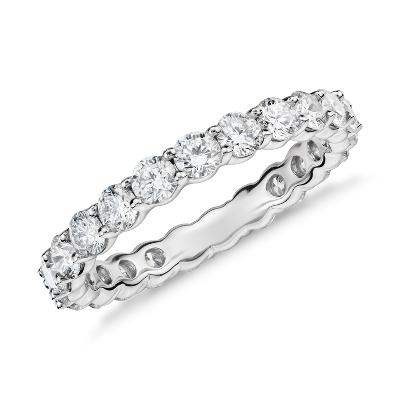 Classic Diamond Eternity Ring In Platinum (2 Ct Tw