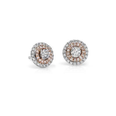 Cushion Cut Emerald Earrings