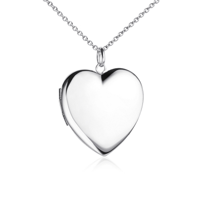 engravable sweetheart locket in