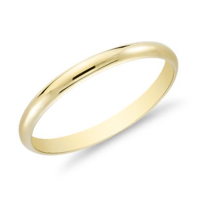 classic wedding ring in