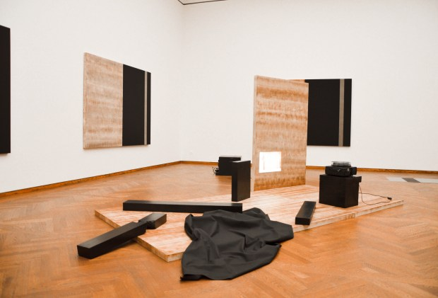 MATHIAS PÖSCHL, exhibition view »The Poetics of the Material«, Leopold Museum, Vienna, 2016 (2)