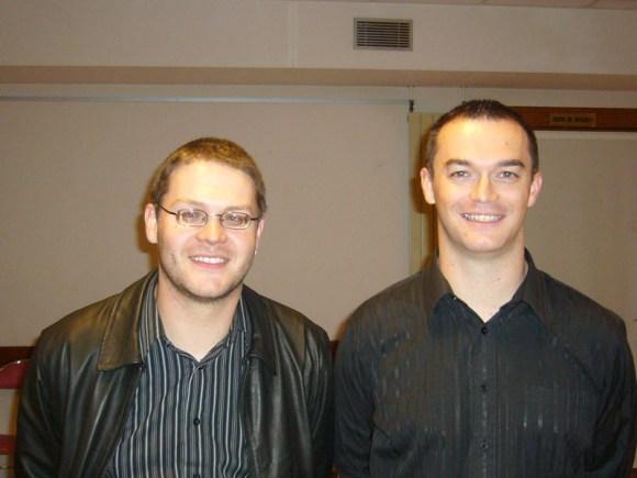 Olivier et Eric Beaumin, vainqueurs 2010 en catégorie A