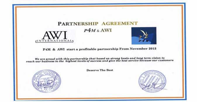 اتفاقية توقعها P4M مع شركة  AWI الأرمينية للساعات ج1