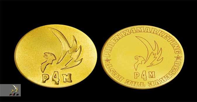 عملة فينكس الذهبية ـ phoenix gold coin