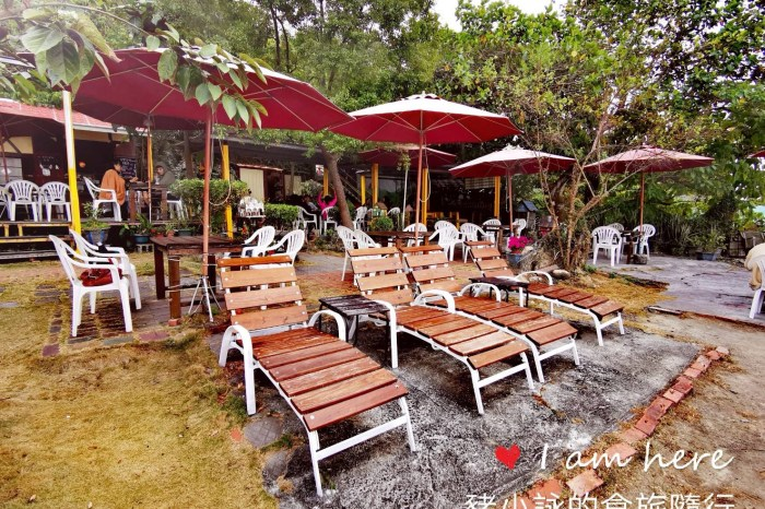高雄。鼓山》海山花園咖啡館(西子灣看海景)