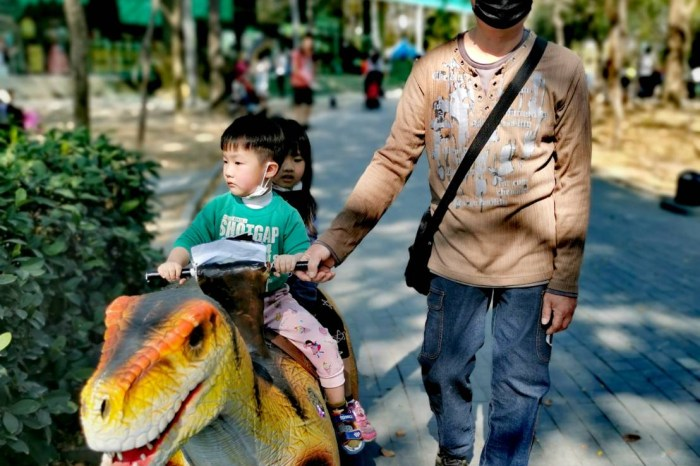 台南。新市》樹谷農場(可餵食多種可愛小動物的好去處)