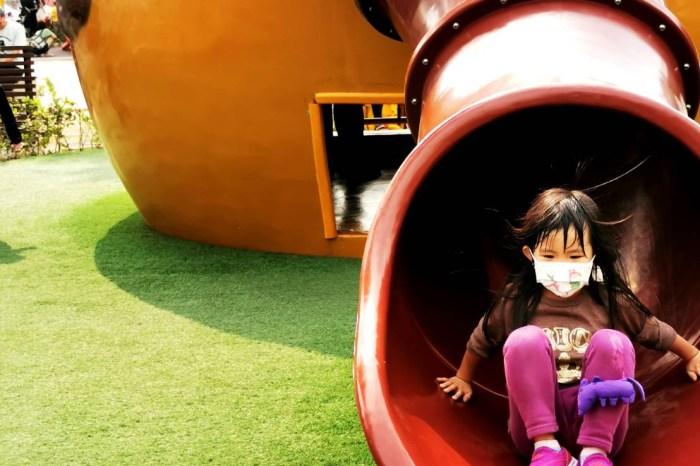 屏東。屏東市》勝利動物溜滑梯公園。造型溜滑梯溜到飽