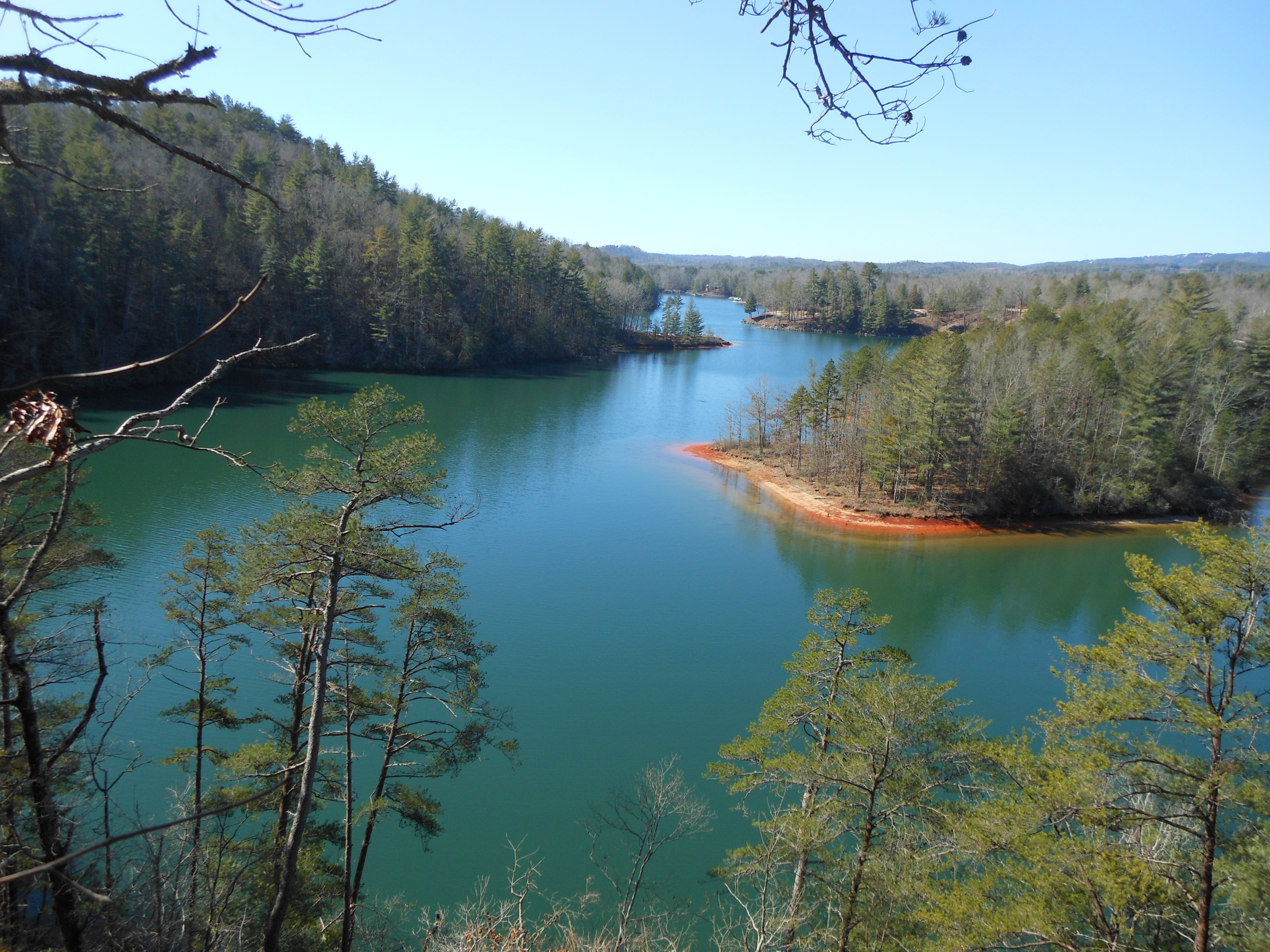 Keowee toxaway state park for Lake keowee fishing