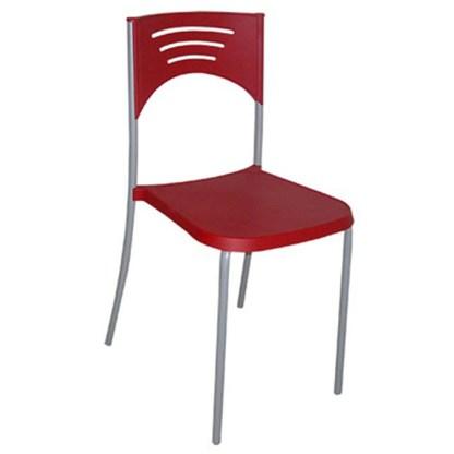 Cadeira de Metal Empilhável ARARUAMA