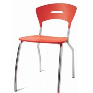 Cadeira de Metal Empilhável BARIRI
