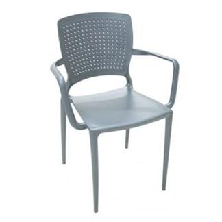 Cadeira de Polipropileno e Fibra de Vidro ITAPEMIRIM-com braço