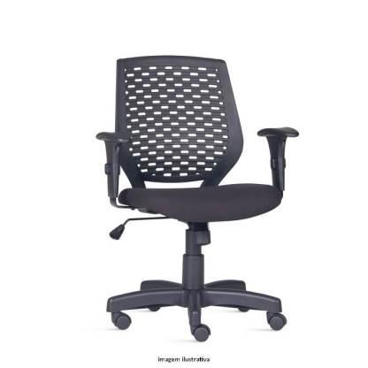 Cadeira Giratória com Braço Regulável AREIAS