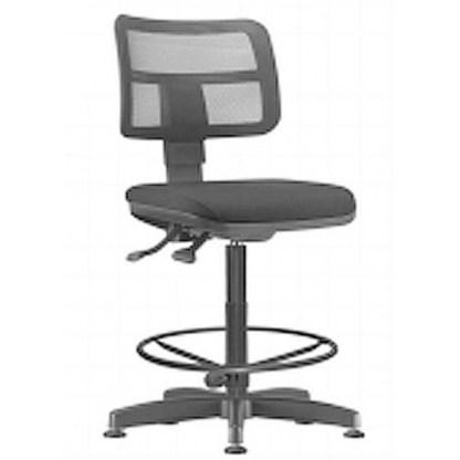 Cadeira Base Caixa com Encosto Executivo em Tela