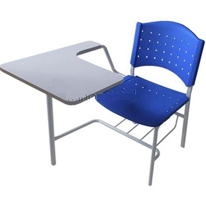 Cadeira Universitária com Prancheta e Porta Livros APARECIDA-Fly