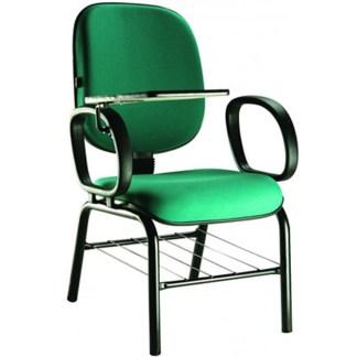 Cadeira Universitária com Prancheta e Porta Livros BARUERI