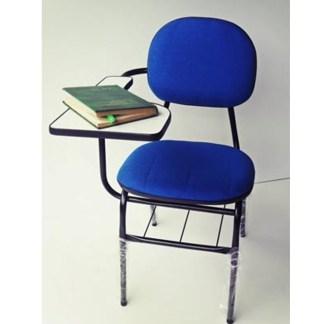 Cadeira Universitária com Prancheta e Porta Livros SECRETÁRIA GARFO