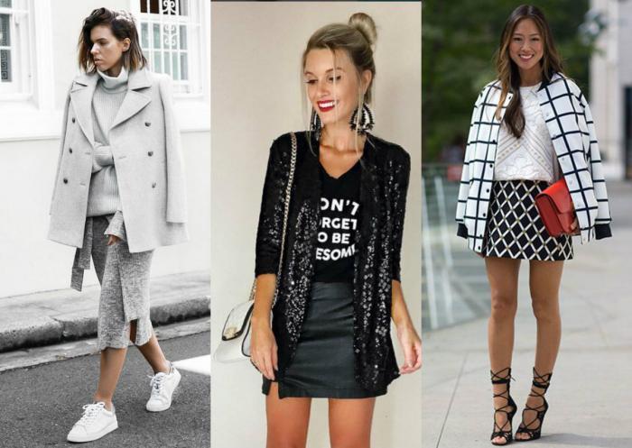 texturas misturadas moda outono inverno