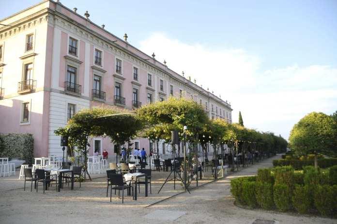 terraza palacio infante d luis boadilla