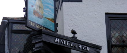 The Mayflower at Rotherhithe