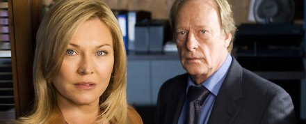 Amanda Redman and Dennis Waterman in New Tricks