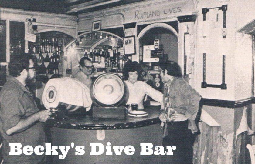 Becky's Dive Bar c.1972.