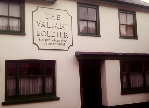 The Valiant Soldier -- the pub where time was never called.