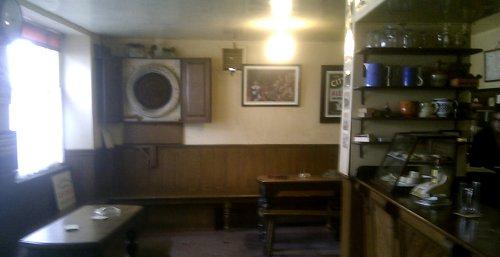Interior of the Valiant Soldier pub.