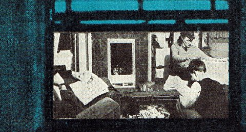 Detail from the cover of The Uses of Literacy by Richard Hoggart.