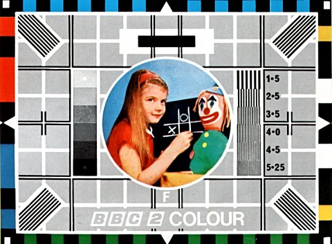 BBC test card.