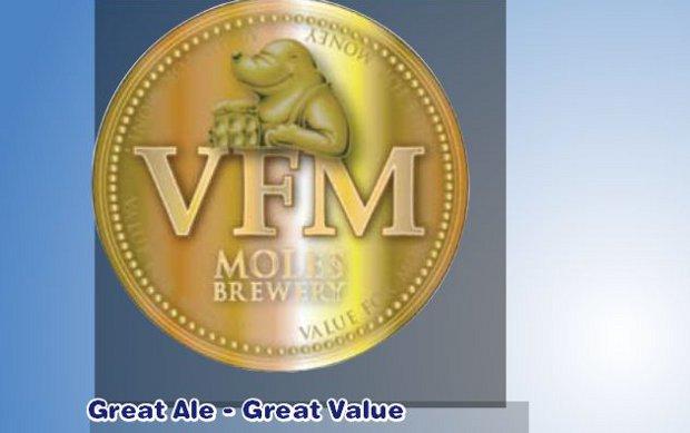 Moles VFM beer pump clip.