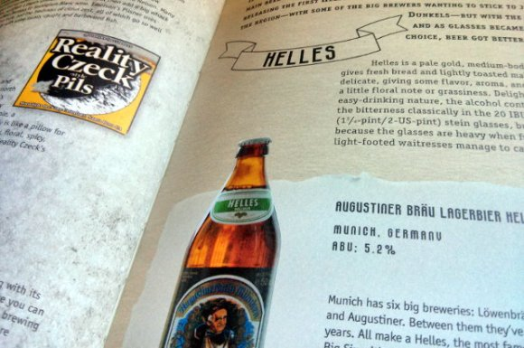 Detail of Mark Dredge's book Craft Beer World.