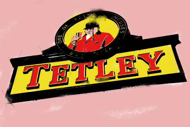 Tetley sign, Sheffield.