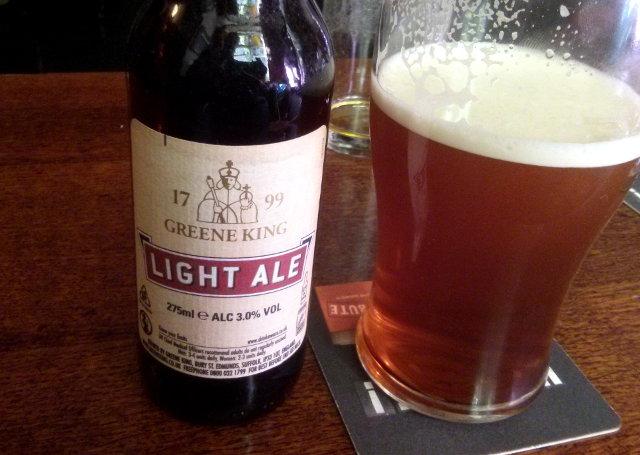 Light split (HSD and Light Ale).