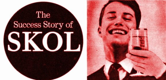 SKOL advert, 1962.