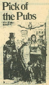 Pick of the Pubs (1974 newspaper headline)