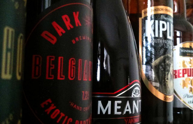 Some British beers from Dark Star, Thornbridge et al.