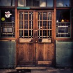 Doorway of the Golden Heart, Spitalfields.