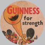 Guinness beer mat c.1956.