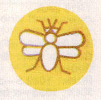 Boddington's bee logo c.1979.