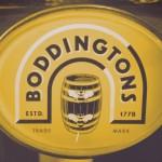 Boddington's keg 'lens', Manchester.