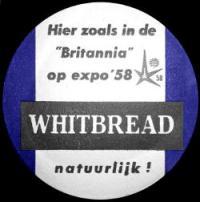 Britannia Bitter beer mat.