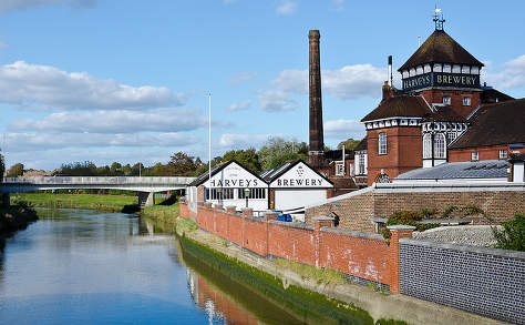 Harvey's brewery, Lewes, by Chris Parfitt.