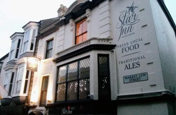 The Star Inn after its refurbishment, December 2014.