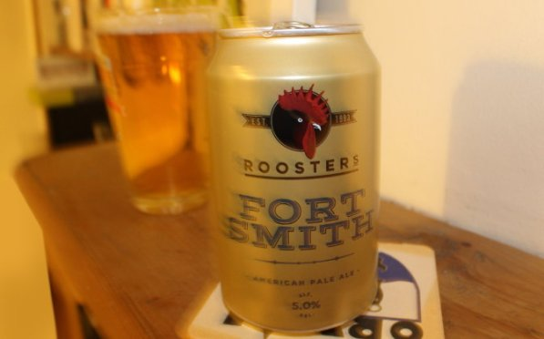 Rooster's Fort Smith in can.