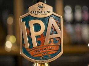 Greene King IPA's new look.