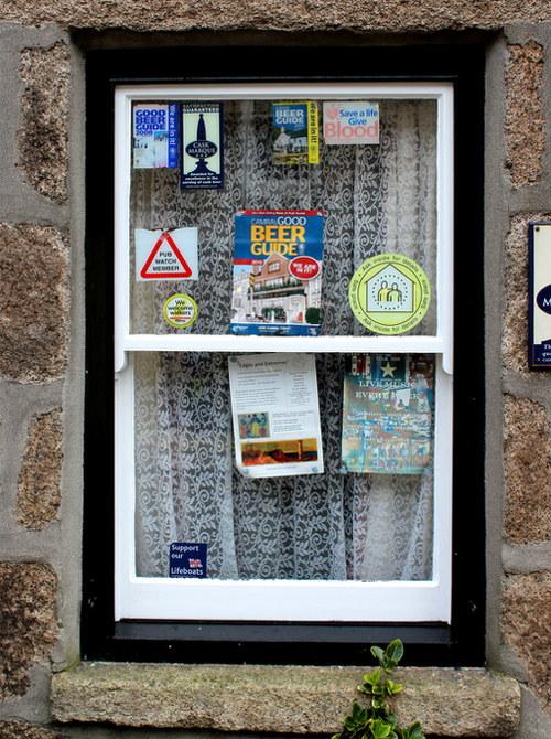 Window of the Star Inn.