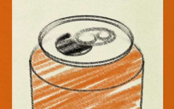 The Good, The Bad & The Murky -- cover image -- a can of craft beer.