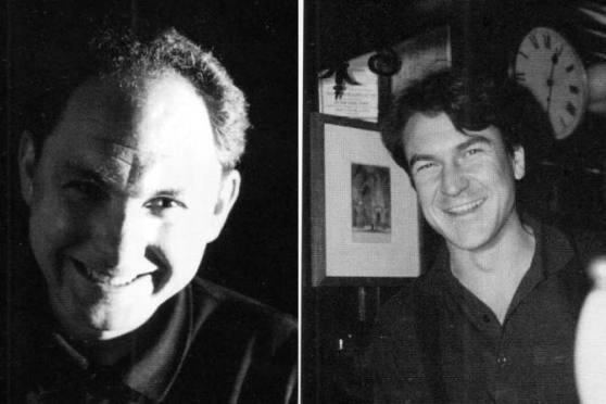 Alastair Hook and Peter Haydon c.1995.