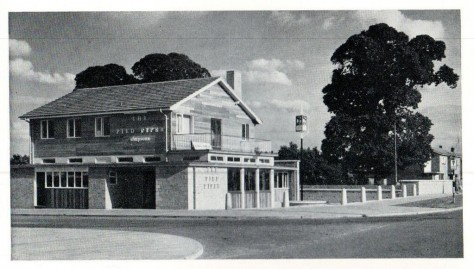 The Pied Piper, Stevenage, c.1958.